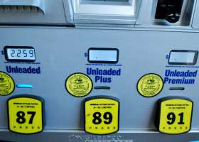 Gas prices in Southern California have dropped considerably, but predictions are prices will quickly rise again in late February. (Betsy Johnson/Lariat)