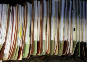 Paper documents are becoming a thing of the past, facing competition with electronic media in the digital age. (Zachary Korb/Creative Commons)