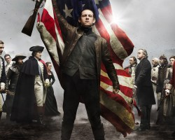 "Abraham Woodhall on the poster for ""Turn."" (Courtesy of AMC)"