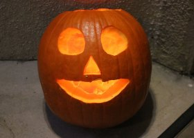 You don't have to be a Picasso for carving pumpkins, no Jack o' lantern is perfect.