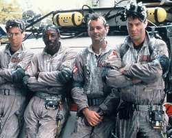 """Ghostbusters"" premiered in 1984 and starred (L to R) Harold Ramos, Ernie Hudson, Dan Ackroyd and Bill Murray. (Columbia Pictures)"