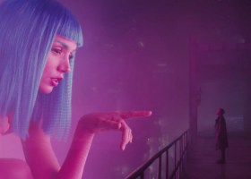 Ana de Armas and Ryan Gosling in Bladerunner 2049 (Image courtesy of Warner Bros. Pictures)