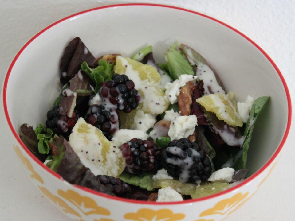 blackberry salad