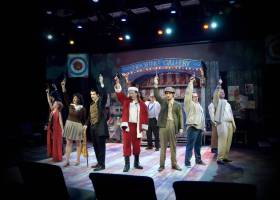 "Saddleback College's fine arts department and staff present the Tony Award winning musical ""Assassins."""
