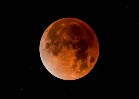 A total lunar eclipse captured by Jason Smith, an assistant in the Saddleback College astronomy department. (Jason Smith)