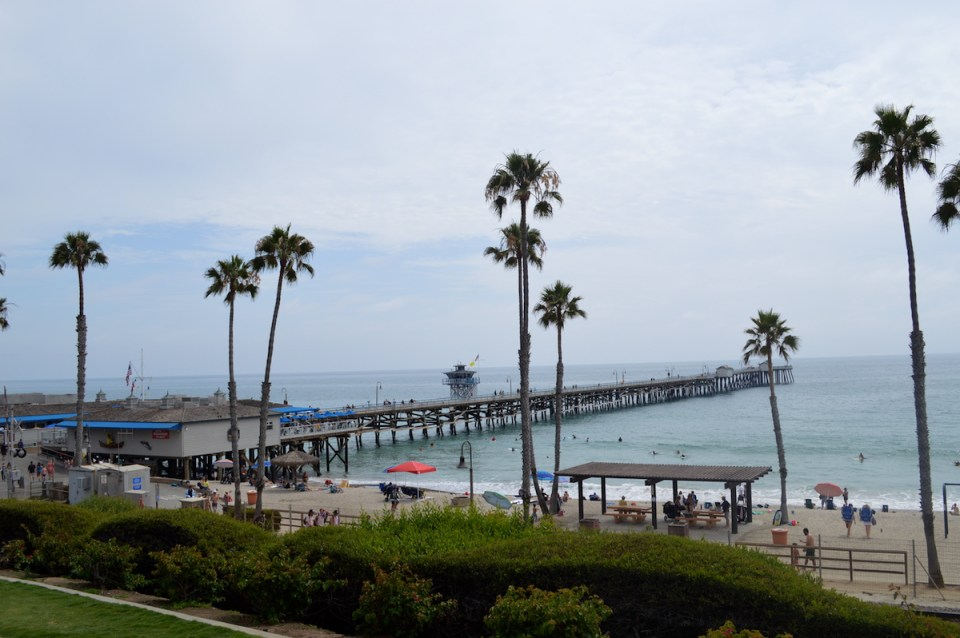 San Clemente gears for the 42nd annual Ocean festival held at the pier. (Andrea Clemett/Lariat)