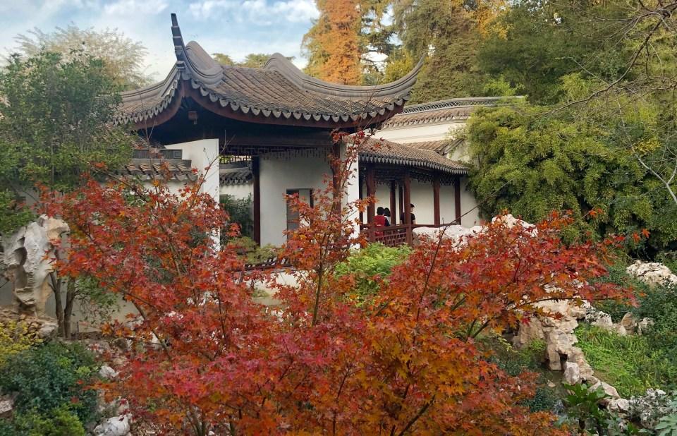 The Huntington Library Botanical Garden Lariat