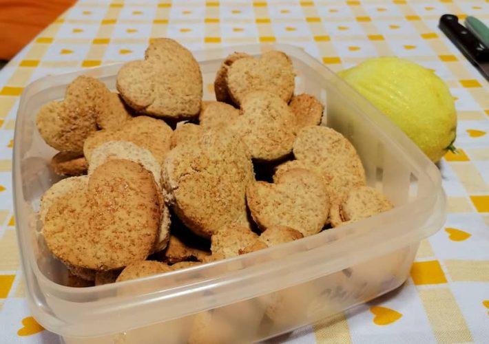 I biscotti integrali bio cotti