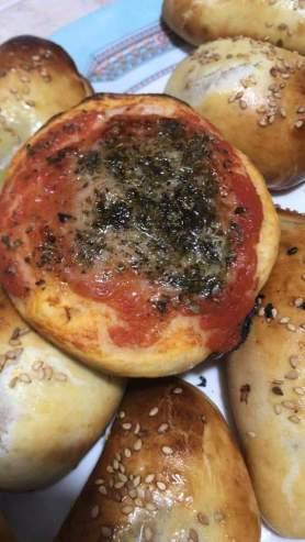 tavola calda siciliana: pizzetta