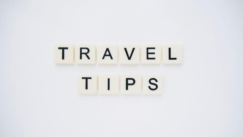 Consigli di viaggio per le cose utili