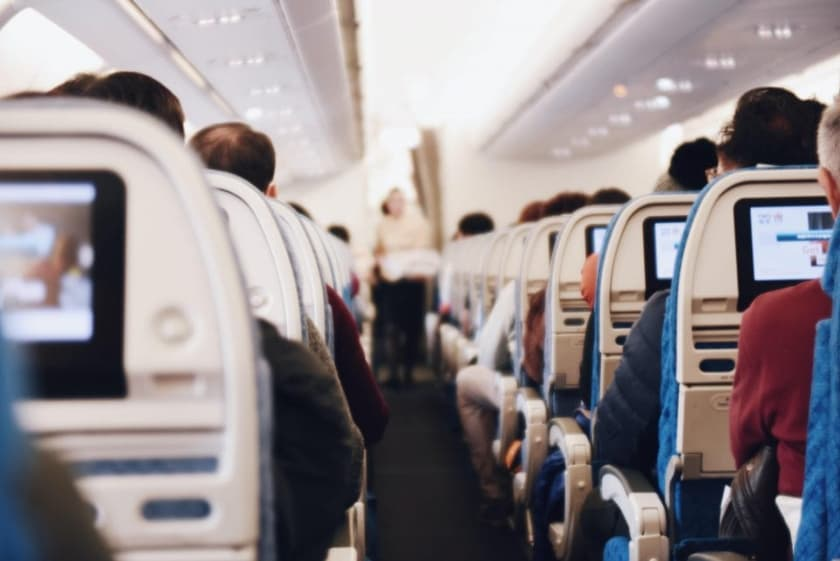 paura di volare in aereo