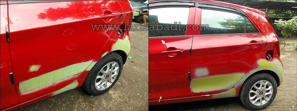 Picanto Red 3-tile