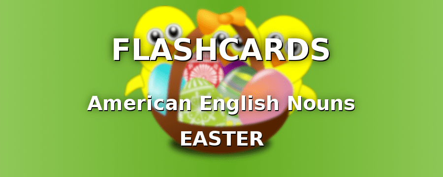 American English Nouns with Easter