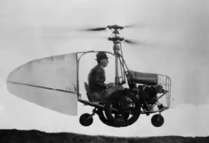 The concept of a flying car goes back several centuries.