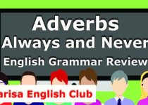 Adverbs Always and Never Grammar Review Audio