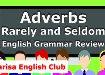 Adverbs Rarely and Seldom Grammar Review Audio