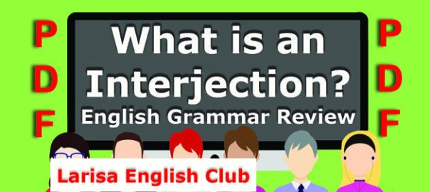 English Grammar Interjection PDF