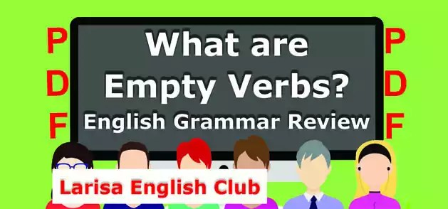 What are Empty Verbs PDF