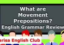 What are Movement Prepositions PDF