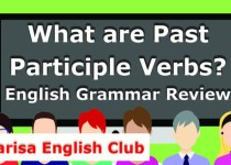 What are Past Participle Verbs Audio