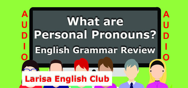What are Personal Pronouns Audio