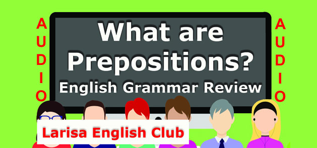 What are Prepositions Audio