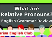 What are Relative Pronouns PDF