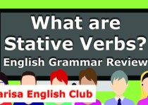 What are Stative Verbs Audio