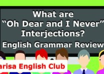 "What are ""Oh Dear and I Never"" Interjections Audio"