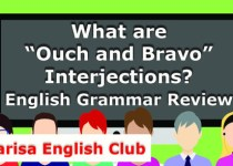"What are ""Ouch and Bravo"" Interjections Audio"
