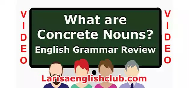 LEC What are Concrete Nouns Video