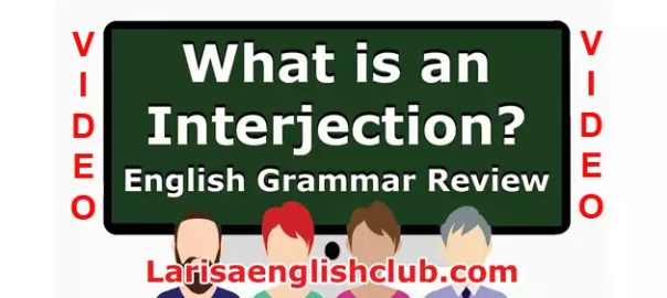 LEC What is an Interjection Video