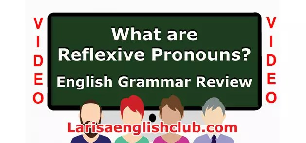 LEC What are Reflexive Pronouns