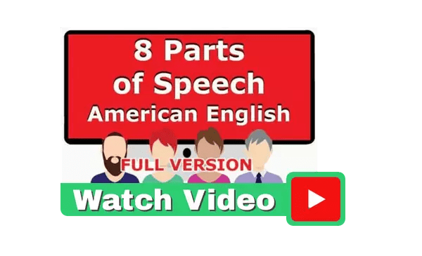 The Eight Parts of Speech Full Version