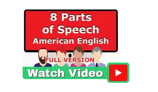 Eight Parts of English Video
