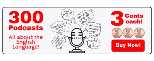 300 Podcasts English Grammar