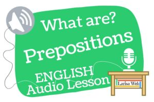 What is a Preposition?