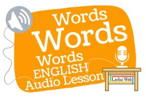 Words, Words, Words? Grammar Review FREE PDF, MP3 Audio English grammar lessons.