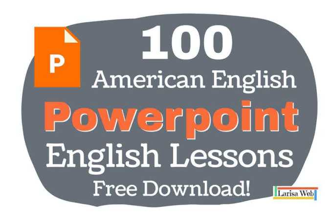 100 English Grammar Powerpoint Download.