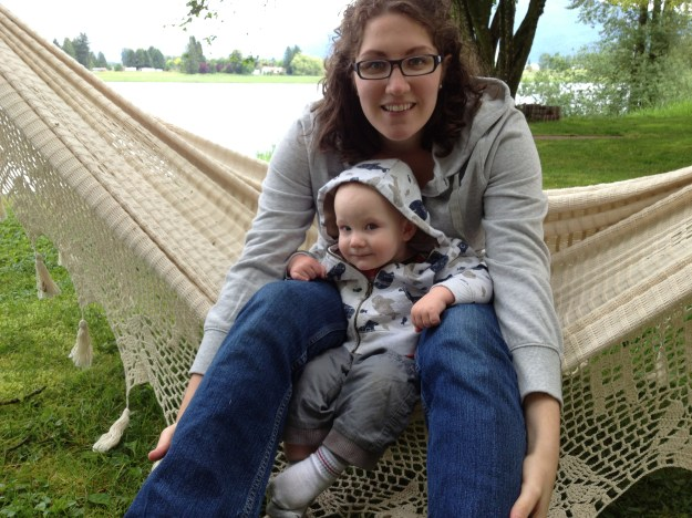 Hangin' in the hammock.