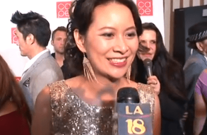 Larissa Lam interview red carpet