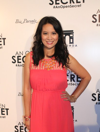 Larissa Lam Red Carpet An Open Secret