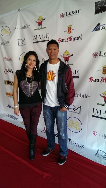 Larissa Lam Only Won Asian Pac Fest red carpet