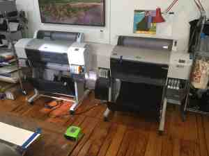 My two epson-7880 printers