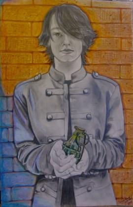 Boy With Grenade