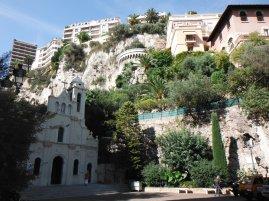 Looking up the vista of Monaco-Ville