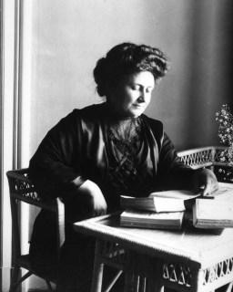 Maria Montessori em 1913