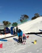 Poppy in Ski School