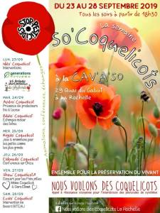 Programme de So'Coquelicots