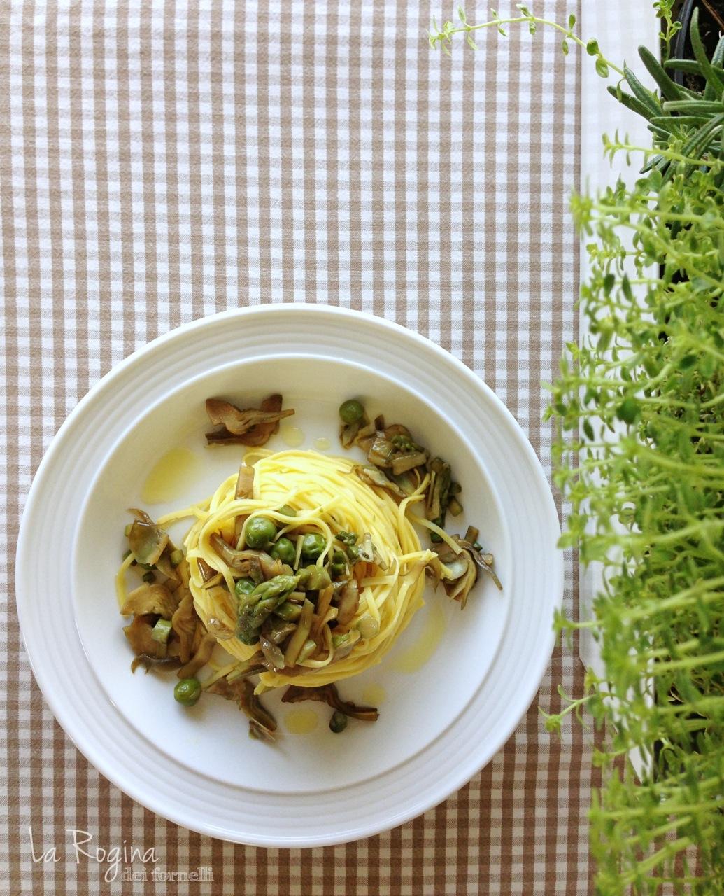 tagliolini-carciofi-piselli-asparagi